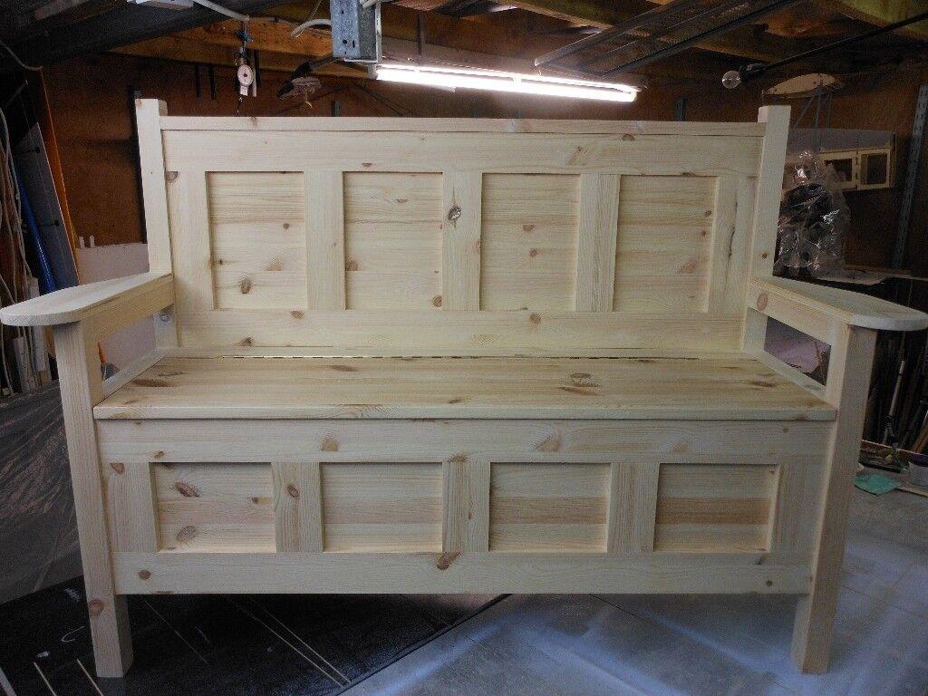 4 Foot Hallway Storage Bench Monks Bench Seat Pew Hallway Chair In Crumlin County Antrim Gumtree