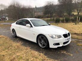 BMW 335d Msport White