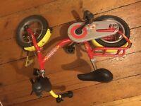 Puky z2 children's bike red