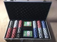 Professional complete poker set