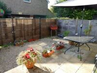 One Bedroom House in Longwell Green with Enclosed Sunny Back Garden & 2 allocated parking spaces