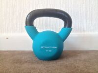 NEW 6kg Cast Iron Kettlebell - Structure Fitness