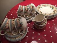 Golden Pears tea set