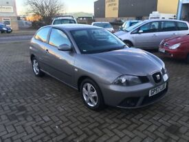 Seat Ibiza Reference Sport 1.2...Low Miles @49,000....MOT October 2018!!!....P/X Considered...