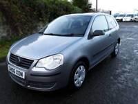 Volkswagen Polo 2006, low mileage, low insurance