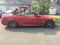 BMW 3 series 330D MSPORT Convertible / hard top cabriolet (no swaps sale only please)