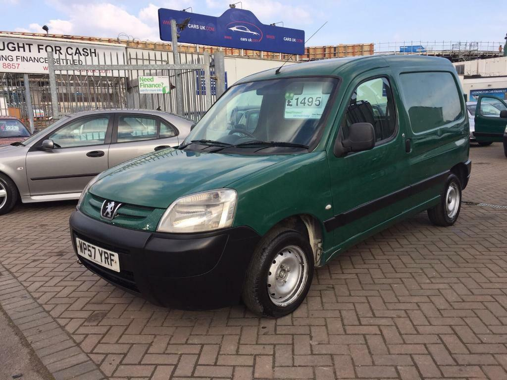 2008 PEUGEOT PARTNER HDI TURBO DIESEL VAN CHEAP BARGAIN ONE OWNER A1 DRIVE CANT FAULT IT !! NEW MOT!