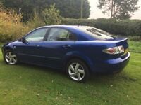 CHEAP CAR MAZDA 6 LOW MILEAGE 1.8 PETROL FULL SERVICE HISTORY 10MTHS MOT