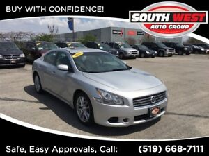 2010 Nissan Maxima S, LEATHER, ROOF, LOADED