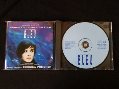 Trois Couleurs Bleu. Film Soundtrack. Compact Disc. 1993. Made In Holland