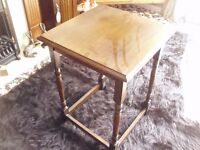 small square coffee / phone table
