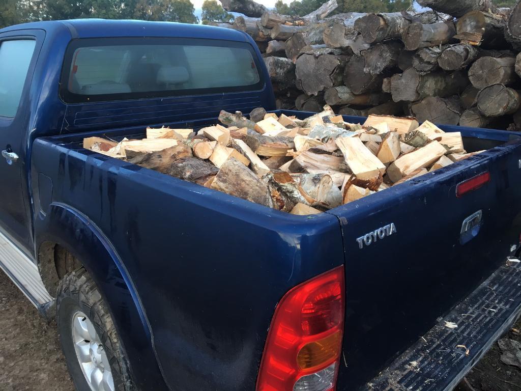 Hardwood firewood - 4x4 pickup load