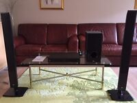 LG DVD Home Cinema System with speakers, excellent condition.