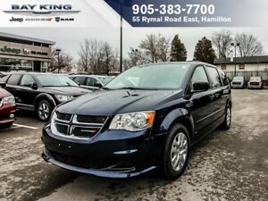 2017 Dodge Grand Caravan SXT PLUS 2ND & 3RD ROW STOW N'GO, BLUET