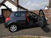 Renault Clio Ripcurl 2008 low mileage cheap first car