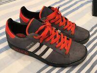 Adidas Forest Hills Grey/Orange Size 9 - £25