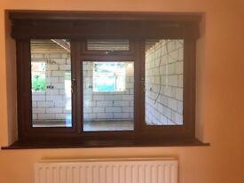 Two double glazed windows