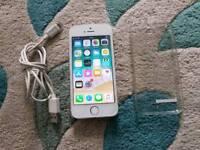 Iphone 5s white EE ORANGE T MOB