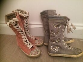 2 X BOOTS FROM NEXT SIZE 11 & SIZE 12 - JUST £10