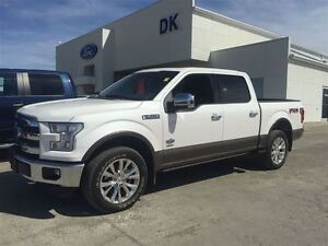 2015 Ford F-150 King Ranch Dealer Demo, Technology Package, Roof