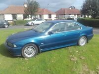 BMW 525i, Manual, very well maintained car.