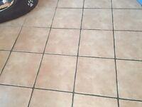 Unused Ceramic Floor Tiles.