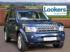 Land Rover Discovery 4 SDV6 HSE (blue) 2012-05-26