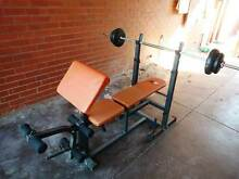 Bench Press   with preacher curl + 60kgs weight Carlisle Victoria Park Area Preview