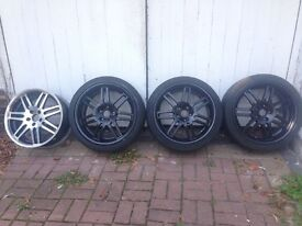 5x112 Alloys, Deep Dish, VW, Audi, Mercedes