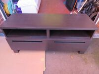 Black IKEA TV Cabinet