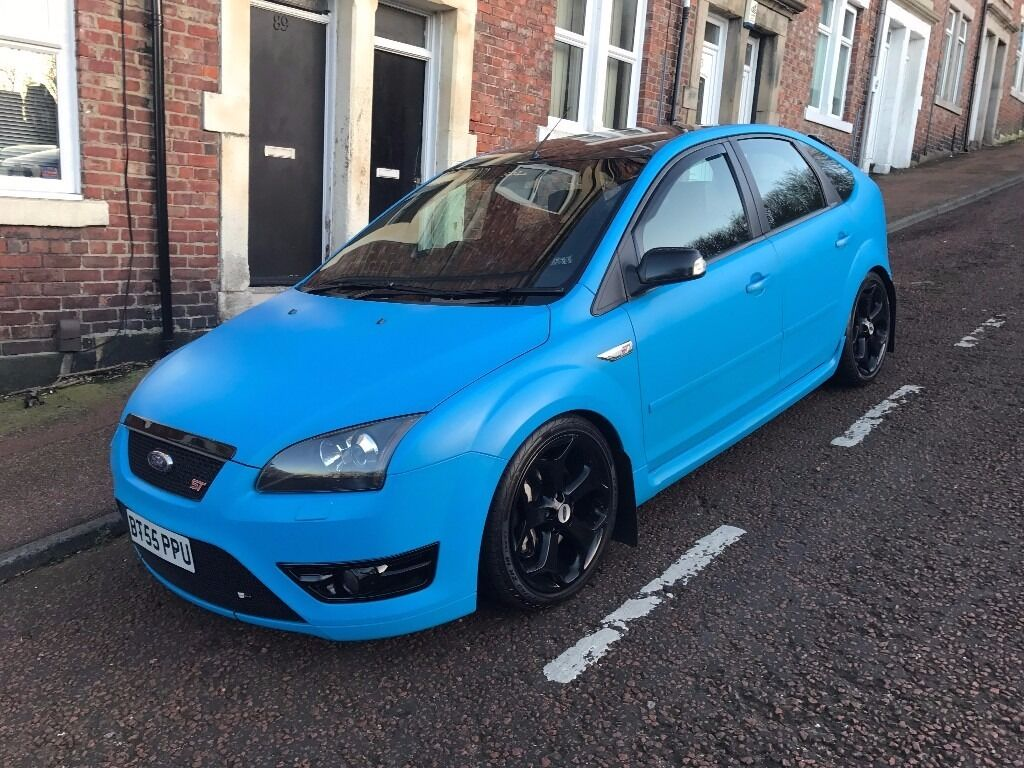2006 ford focus st 3 pre facelift matt wrap revo cobra sport immaculate in gateshead. Black Bedroom Furniture Sets. Home Design Ideas