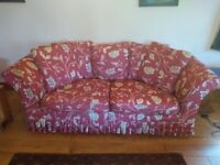 Sofa - 3 seater with removable/washable covers