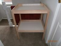 Changing table - hardly used