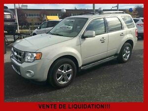 2009 FORD ESCAPE AWD Limited / Cuir / Toit Ouvrant / Navigation