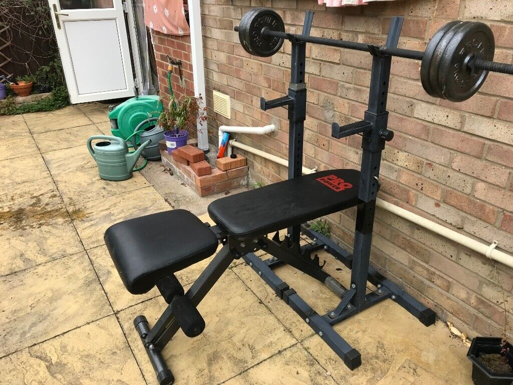 Independent Bench Press Stands For Strength Training With Adjustable