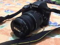 Nikon digital SLR D3300 camera for sale