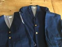 Boys John Lewis Heirloom collection 3 piece suit. Aged 12-13 yrs