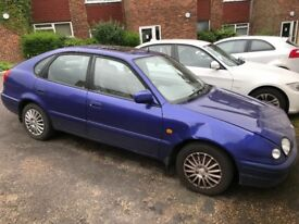 Toyota Corolla 1998 5 door in Blue - Automatic - Petrol - Low mileage