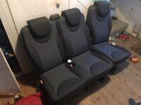 Peugeot expert tepee seats - 2009
