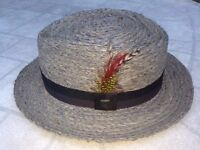 Brixton Delta Porkpie Hat - Very Rare Limited Edition! - Large - 60cm