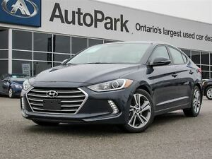2017 Hyundai Elantra Blind Spot Mon.| Heated Seats + Wheel| Sunr