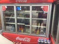 Retail fridge Coke 3 door