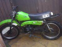 Kawasaki KE100 spares or repair