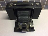"Vintage Eastman ""Kodak"" No2 Folding Pocket Brownie Camera"