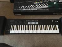 Novation Lauchkey 61 MIDI keyboard