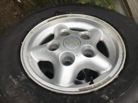 Land Rover discovery 16 alloy wheels