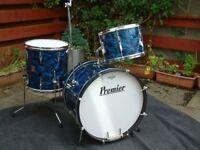 Vintage 60s Drum Kit by Premier