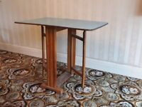 1960's Formica topped drop leaf table