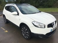Superb Condition 2011 61 Qashqai +2 7 Seater SUV 79000 Miles In Stunning White! October 2018 MOT