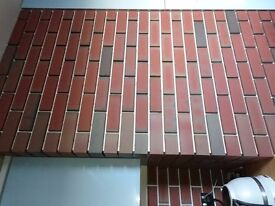 12 boxes of brick slips and 36 corners